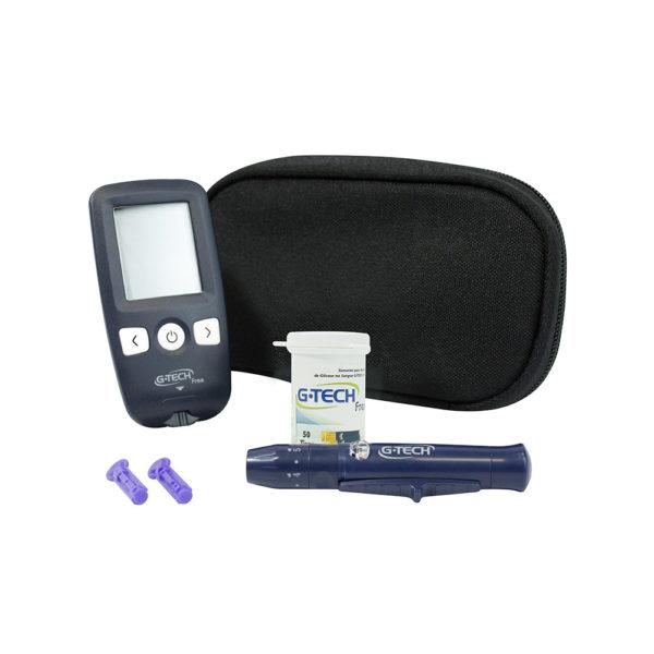 Medidor de glicose G-Tech Free