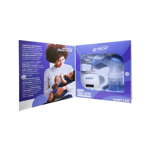 Bomba tira-leite materno automática Smart LCD G-Tech