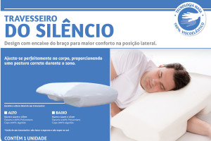 Travesseiro do Silêncio Perfil Baixo