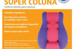 Apoio Super Coluna (rosa/cinza)
